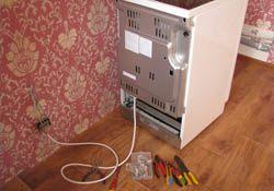 Подключение электроплиты. Туапсинские электрики.