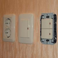 Монтаж, ремонт, замена выключателей Туапсе